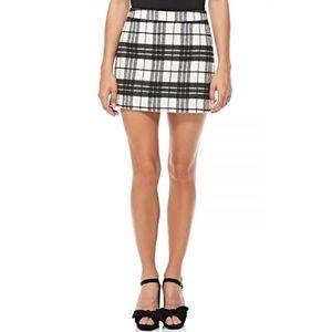 NWT Plaid Skirt